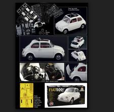 FIAT 500F 1968 1/12  Kit di montaggio 4703 ITALERI