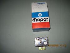MOPAR Starter Relay NOS pre Bar Code For Some Chrysler Dodge Plymouth