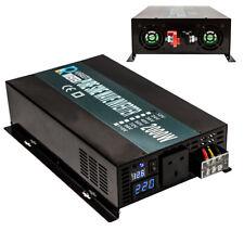 2000W Pure Sine Wave Inverter Car Power Inverter 12/24/36/48V to 240V Solar
