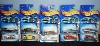 2004 Hot Wheels First Editions 1  - 10 Batmobile Ferrari Supra Nova Lot of 10