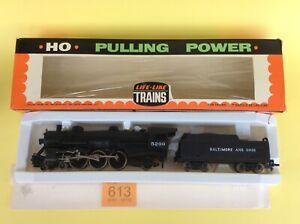 Life Like Trains T236 USRA Light Pacific 4-6-2 Loco & Tender HO Boxed 2 Rail NMC