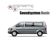 Volkswagen Multivan Soundsystem Basic Nachrüstsatz T5 Lautsprecher & Subwoofer