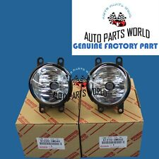 NEW GENUINE OEM TOYOTA 4RUNNER PRIUS IS250 IS350 CT200h FOG LIGHT LAMP SET OF 2
