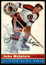 1954-55 TOPPS JAKE MCINTYRE CHICAGO BLACKHAWKS #43