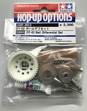 Tamiya 53863 DT-02/DT02 Ball Differential Set (Super Fighter G) NIP