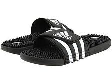 d3cbeb8c44d Mens Adidas Adissage Black Slides Shower Sandals Athletic Sport 078260 Size  6-15