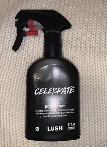 Lush Cosmetics CELEBRATE Citrus Champagne Buck's Fizz 6.7 oz / 200 ml Body Spray