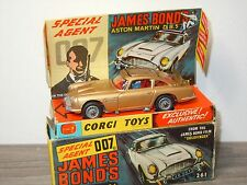 Aston Martin DB5 James Bond van Corgi Toys 261 England in Box *28622