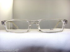 SOHO 56 CRYSTAL CLEAR RECTANGULAR EYEGLASS FRAME