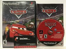 Disney Pixar Cars (Sony Playstation 2 Ps2) Complete Cib