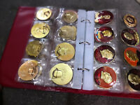 A set of commemorative medals of Chairman Mao old cultural revolution in China