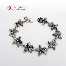 Sterling Silver Star Fish Bracelet