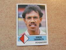 vintage collector PANINI FOOTBALL VOETBAL 1987 HOLLAND : SIMON TAHAMATA F'NOORD