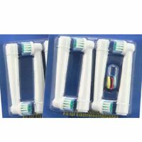 4pcs oralb eb17-4 eb17 mundpflegemittel elektrische zahnbürste ersatz kopf JYL