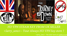 The Journey Down Chapter Two Steam key NO VPN Region Free UK Seller