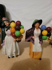 Royal Doulton Balloon Lady And Biddyfarthing