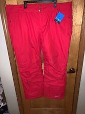 Nwt Columbia Femmes Bugaboo Oh Omni Chaleur Ski Isolé Pantalon - 3X Plus