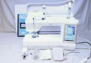 MINT BABYLOCK ARIA SEWING & QUILTING MACHINE! LOW USE W/ EXTENSION TABLE! BLAR