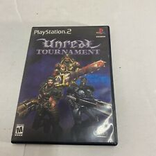 Unreal Tournament Sony PlayStation 2 2000 CIB Complete Video Game Ps2 Free Ship
