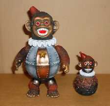 Kikkake Toy - Iron Monkey II + Roly Poly The Bomb - Sofubi Toys Set jolly chimp