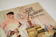 1959 St Louis Fall Fashions Newspaper Sale Catalog Insert Dress Clothing Skirt