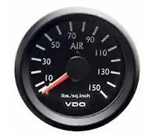 VDO International 150 PSI Dual Air Pressure Gauge 52mm