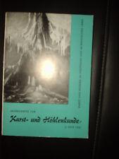 Jahreshefte für Karst- und Höhlenkunde 2. Heft 1961
