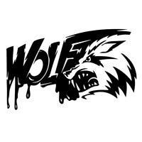 Car Sticker Vinyl Truck Laptop Window Bumper Motorcycle Van Bloody Wolf Decal