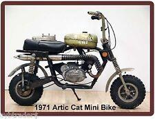 1971 Artic Cat Mini Bike  Refrigerator / Tool  Magnet