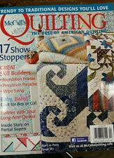 MCCALLS QUILTING 2014 FREE SHIPPING see pics for detail
