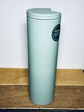 🌟Starbucks🌟 2021 Recycled Plastic Matte Teal Hot Tumbler Cup 16oz