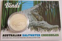 Australien 1 Dollar 2013 Saltwater Crocodiles Bindi 1 Oz Silber BU