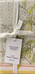 Williams-Sonoma Citron Napkins Set/4