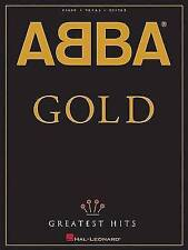 NEW ABBA - Gold: Greatest Hits (Piano/Vocal/Guitar Artist Songbook) by ABBA