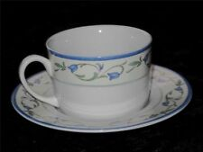 Blue Pottery Cups & Saucers 1980-Now Date Range