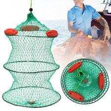 Foldable Fishing Net Live Bait Mesh Trap Minnow Crawfish Shrimp Floating Cage