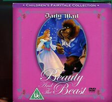 Children's Fairytale Collection - Beauty & The Beast  Mail  DVD - 1st Class Post