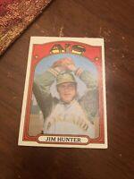 1972 Topps Jim Hunter #330 Baseball Card
