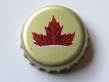 BEER Bottle Crown Cap ~ LABATT Brewing ~ Ontario, CANADA Est 1934 ~ Maple Leaf