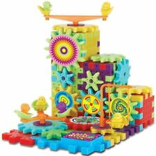 Motor skills Building Blocks Educational Learning 3D Spinning Shapes Puzzle new