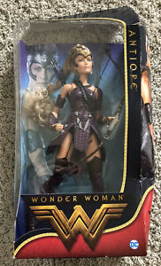 Antiope Wonder Woman Barbie Collector Doll Black Label DC 2016 Brand New Open Bo