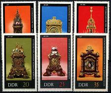 Germania est DDR 1975 SG#E1770-5 ANTICHI OROLOGI Gomma integra, non linguellato Set #D59990