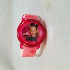 JOJO SIWA GIRLS PINK DIGITAL WATCH KIDS LCD WRISTWATCH BIRTHDAY GIFT NEW