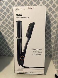 """InStyler MAX 1.25"""" 2-Way Rotating Tourmaline Ceramic Straightener & Styler"""
