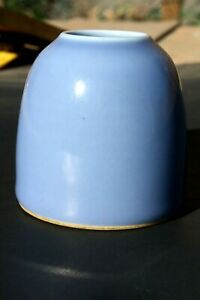 Antique Chinese Porcelain Blue Beehive Brush Washer