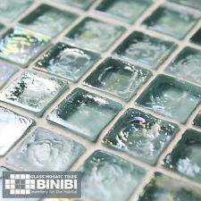 RECYCLED Glass Mosaic Tiles Bathrooms Kitchens Wall Floor 305x305mm SALE! 8D-102