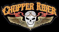 Chopper Rider Skull S iron-on Aufnäher patch