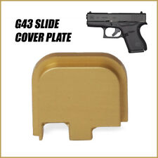 Replacement Slide Cover Plate for Glock G43 - GOLD