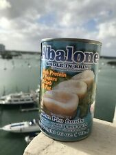 Abalones Canned Seafood Don Pio From Peru,Whole In Brine,16oz.8 Abalones Ex3/23