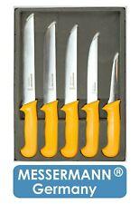 Profi Metzgermesser Set 5er Box Fleischermesser Stechmesser Ausbeinmesser Messer